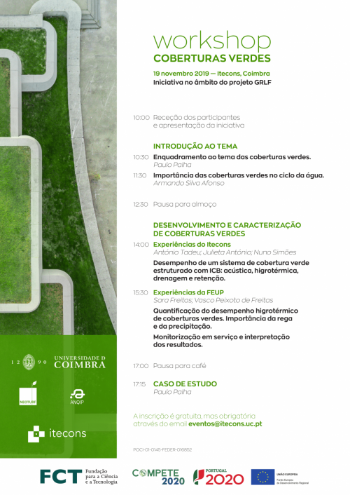 WORKSHOP - COBERTURAS VERDES
