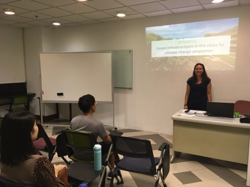 Macau - Infraestruturas verdes nas cidades para adaptação às mudanças climáticas