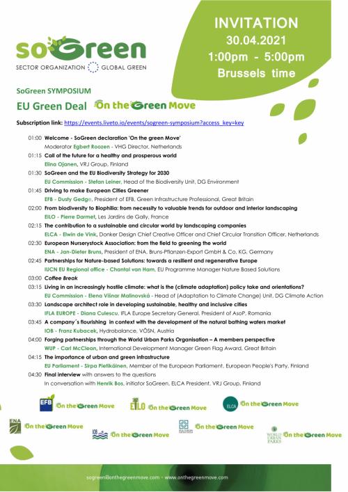 SoGreen Symposium - 30 de Abril de 2021