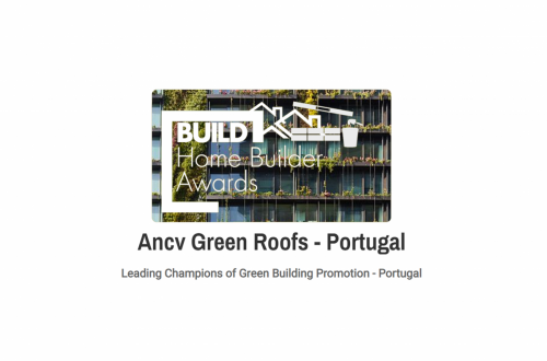 "A ANCV recebeu o prémio de ""Leading Champions of Green Building Promotion"""