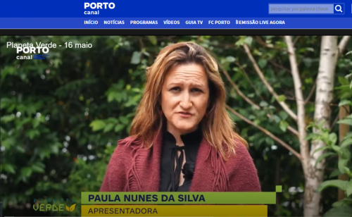 Interview to the Planeta Verde program in Porto Canal- 16 May