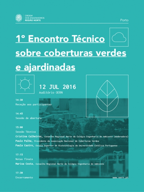 1st TECHNICAL MEETING ABOUT GREEN ROOFS