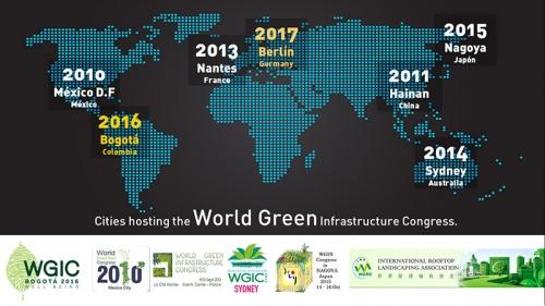 WGIC – THE WORLD GREEN INFRASTRUCTURE CONGRESS 2016 – BOGOTÁ