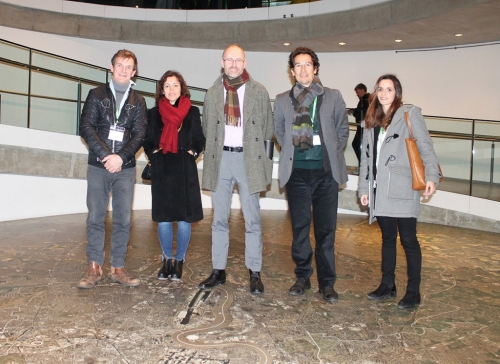 PQAP TEAM VISITS LONDON TO DEBATE THE STRATEGIES TO INCLUDE GREEN ROOFS IN THE CITY PLANNING