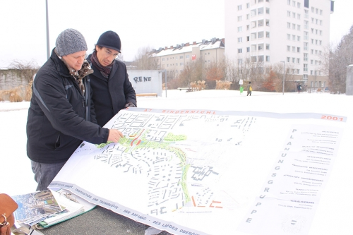 PQAP TEAM VISITS LINS TO DISCUSS STRATEGIES TO INCLUDE GREEN ROOFS IN THE URBAN PLANNING