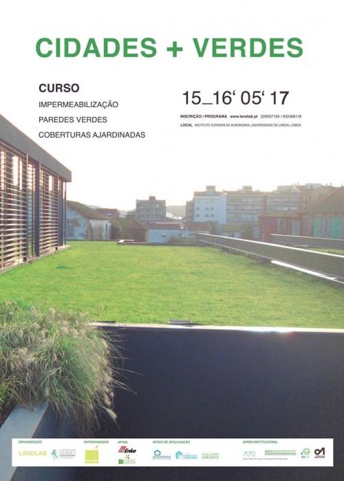 Curso de Impermeabilização, paredes verdes e coberturas ajardinadas!