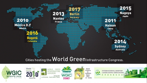 WGIC – THE WORLD GREEN INFRASTRUCTURE CONGRESS 2016 – BOGOTÁ