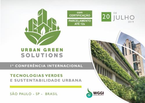 I Conferência Internacional de Urban Green Solutions