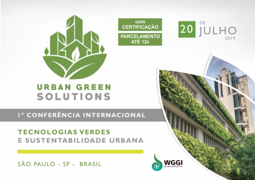 I International Conference of Urban Green Solutions